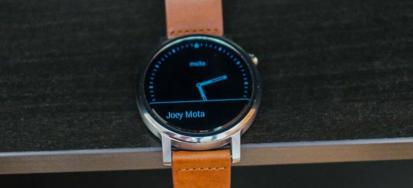 Đồng hồ Moto 360 thế hệ 2