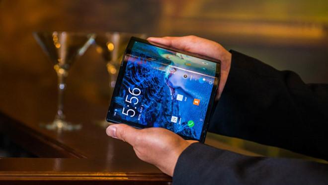 smartphone màn hình gập của Samsung