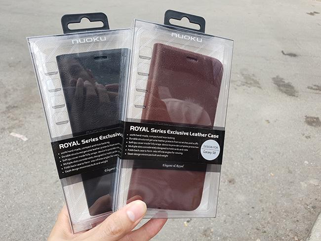 TOP những loại bao da - ốp lưng chính hãng Galaxy S8 đáng mua dưới 300k