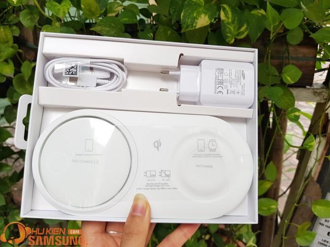 Đế sạc đôi không dây Samsung Note 10 Plus chính hãng giá rẻ có bảo hành