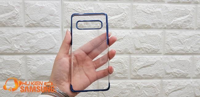 mua ốp lưng Samsung s10 plus baseus viền màu đẹp chính hãng giá rẻ