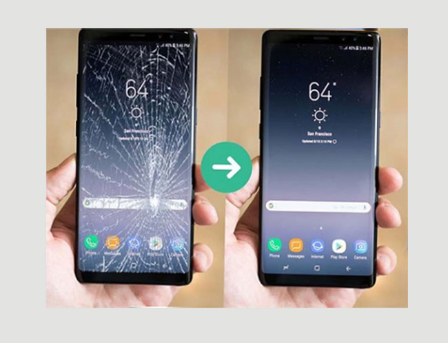 Thay mặt kính Samsung S8 Plus chính hãng giá lấy ngay bao nhiêu ở đâu Hà Nội tphcm