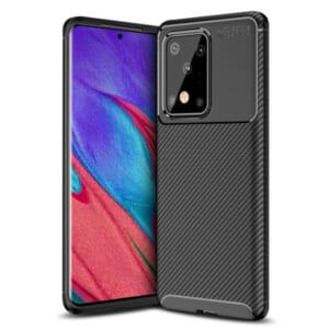 Ốp lưng Samsung Galaxy S11 Plus đẹp vân carbon hiệu Olixar chống bám vân tay giá rẻ tại hà nội tphcm