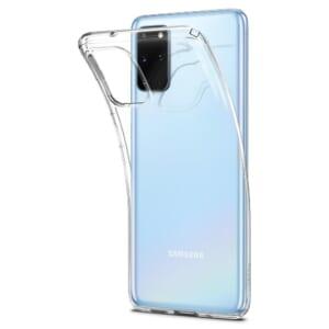 Ốp lưng chống sốc Samsung S20 Plus Spigen Liquid Crystal siêu mỏng trong suốt giá rẻ hà nội tphcm