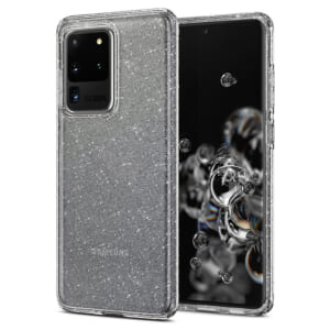 Ốp lưng chống sốc Galaxy S20 Ultra Spigen Liquid Crystal Glitter đẹp