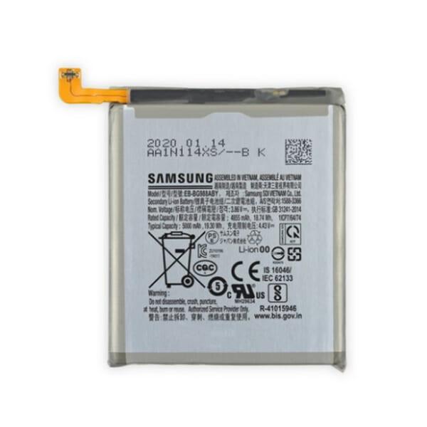 Thay pin Samsung S20 Ultra chính hãng có bảo hành lấy ngay