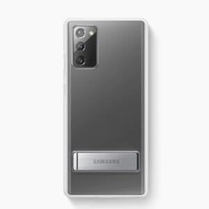 Ốp lưng Samsung Note 20 Clear Standing chính hãng có thanh chống đẹp
