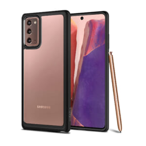 Ốp lưng Samsung Note 20 Spigen Ultra Hybrid trong suốt cứng chính hãng