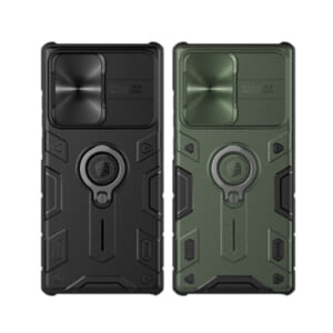 Ốp lưng Samsung Note 20 Ultra Nillkin che camera có iring đẹp độc giá rẻ