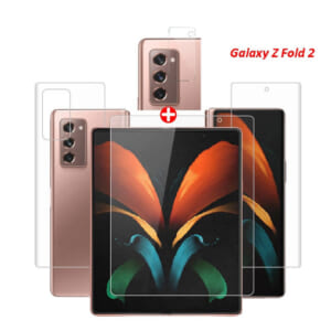 Bộ miếng dán PPF Samsung Galaxy Z Fold2 full màn hình, mặt lưng, camera sau chống xước tốt nhất giá rẻ
