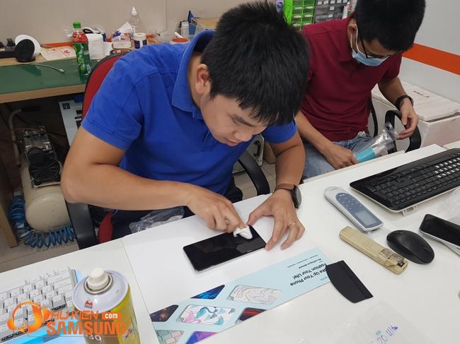 Dán PPF full màn hình Samsung S21 Ultra chống xước nhạy cảm ứng giá rẻ