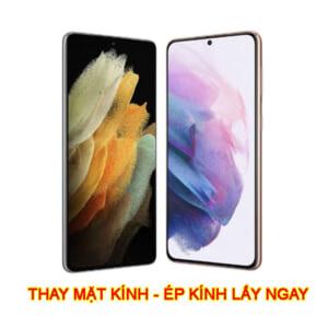 Thay ép mặt kính màn hình Samsung S21 | S21 Plus chính hãng zin lấy ngay giá rẻ ở đâu hà nội tphcm
