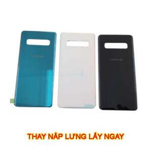 thay nắp lưng Samsung S10, Plus, 5G, Lite, S10E chính hãng mới lấy ngay giá rẻ ở hà nội tphcm