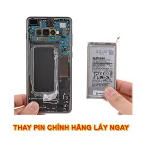 Thay pin Samsung S10, Plus, 5G, Lite S10E chính hãng lấy ngay zin giá rẻ có bảo hành