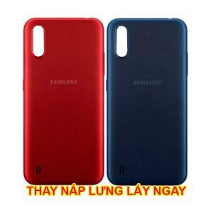 Thay nắp lưng Samsung A02S chính hãng mới zin hàng chuẩn lấy ngay giá rẻ ở hà nội tphcm